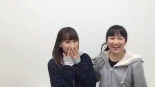 【NGT48 がたねぇ(西潟茉莉奈)のハスキーボイス】20160412