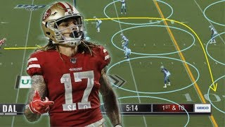 Film Study: Breaking down Jalen Hurd's great first performance as a San Francisco 49er