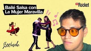 EL MINDO - BAILÉ SALSA CON LA MUJER MARAVILLA - Gal Gadot - Liga de la Justicia