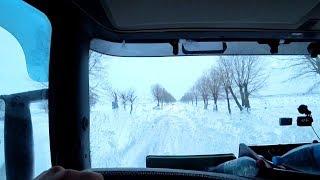 Выбираюсь из снегов Краснодарского края