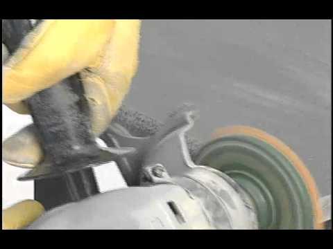 Pads de diamante para pulido en seco youtube - Pulir marmol a mano ...