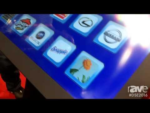 DSE 2016: TS Microtek Shows Off 4K Table Kiosk