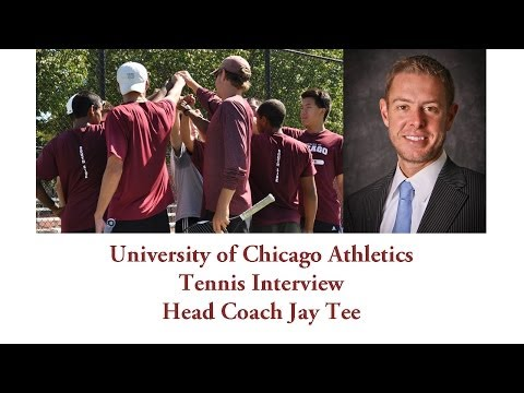 UChicago Athletics: Tennis Interview with Head Coach Jay Tee (5-28-2014)
