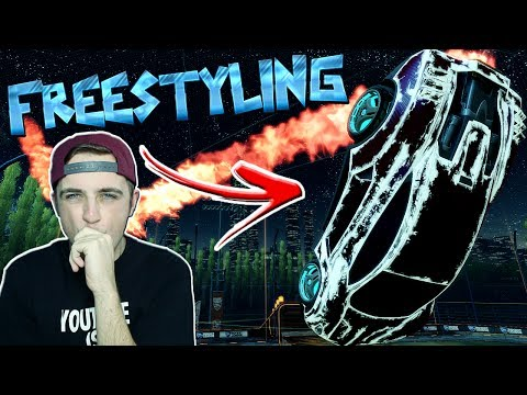 Trying To FREESTYLE In Rocket League | Goals, Fails & Funny Moments Montage