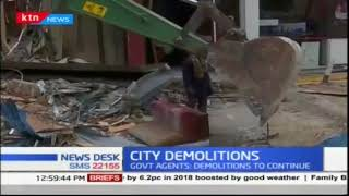 NEMA demolishes Java coffee shop, Shell fuel station in Kileleshwa