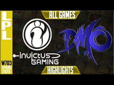IG vs WE Highlights ALL GAMES | LPL Spring 2020 W7D3 | Invictus Gaming vs Team WE