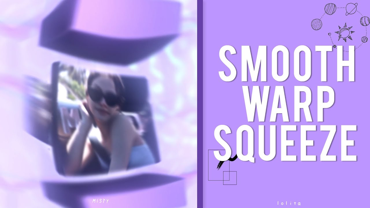 smooth warp squeeze/shake ??    after effects tutorial