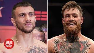 Could Vasiliy Lomachenko fight Conor McGregor? | Golic and Wingo
