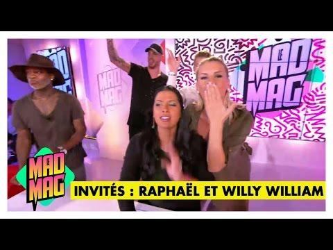 Le Mad Mag du 16/03/2016 - Emission 17 avec Raphaël et Willy William