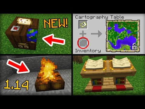 NEW Stuff Added in Minecraft 1.14 Update thumbnail