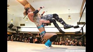 Candice LeRae vs Trent? PWG Mistery Vortex 4 Highlights