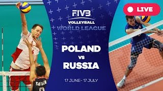 Poland v Russia - Group 1: 2016 FIVB Volleyball World League