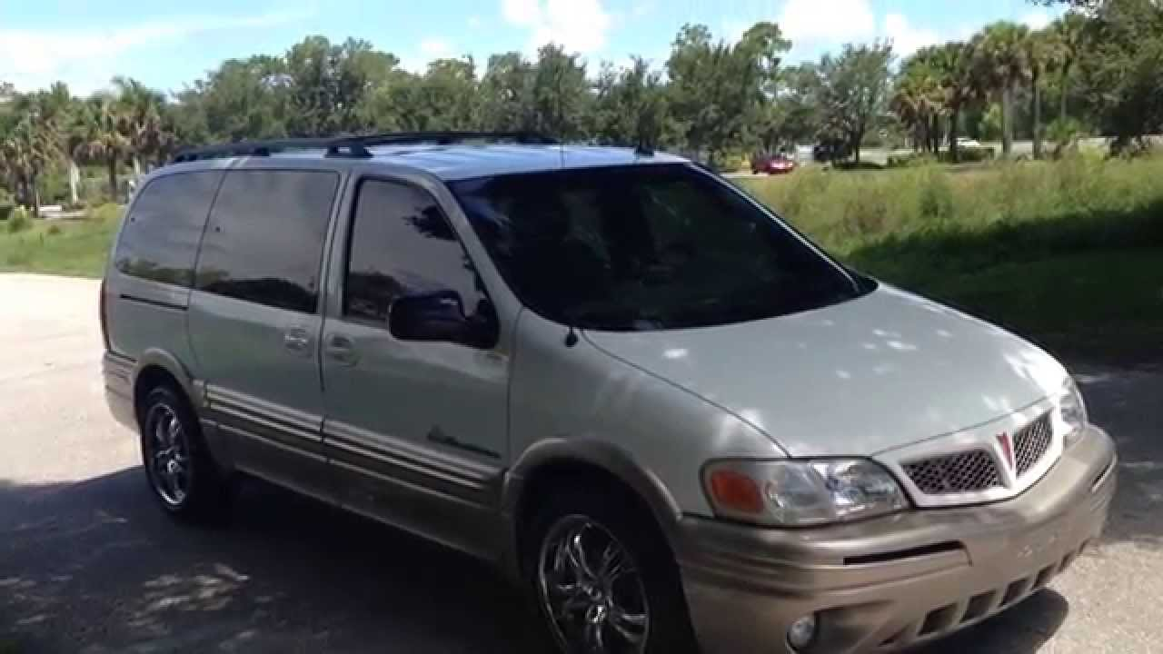 2003 pontiac montana long wheel base view our inventory at fortmyerswa com youtube