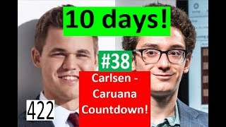 10 days to Carlsen-Caruana! ¦ One Millimetre from Immortal Glory!