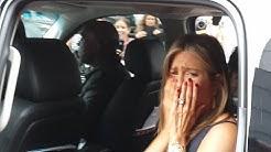 Jennifer Aniston reacts to fan's tattoo at TIFF 2014 Toronto
