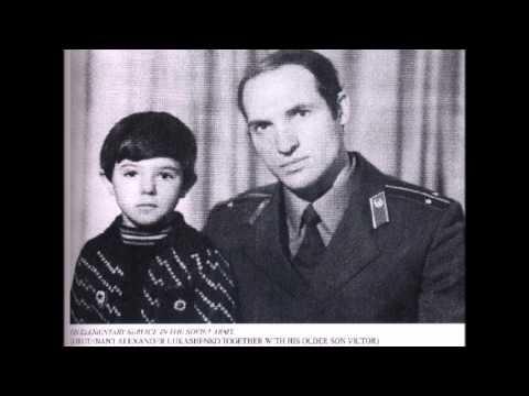 Александр Лукашенко в молодости.Редкие фото из личного архива.
