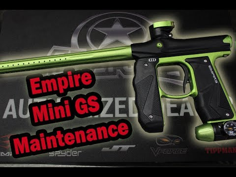 Empire Mini GS Maintenance/Cleaning | Jaegers Subsurface Paintball