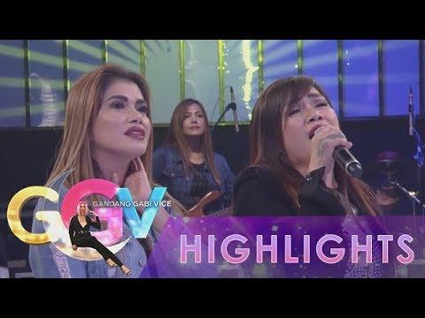 GGV: Aegis tries to sing their song Basang Basa Sa Ulan backwards