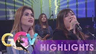 "GGV: Aegis tries to sing their song ""Basang Basa Sa Ulan"" backwards"