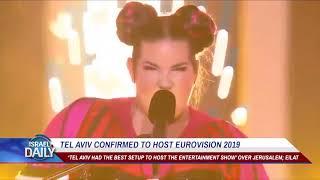Tel Aviv Will Host Eurovision 2019 - Sep. 13, 2018