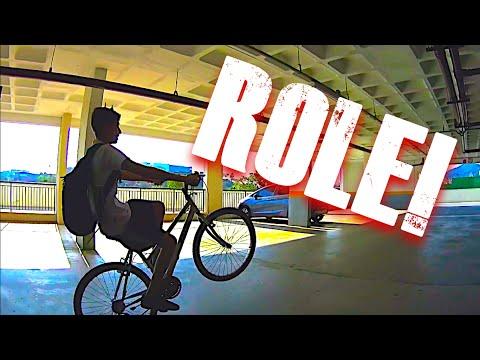 ROLE DE BIKE E DE SKATE!! // DAILY VLOG