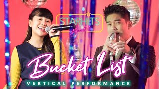 GHEA INDRAWARI - BUCKET LIST (FEAT. BOY WILLIAM) [BOOST LIVE VERTICAL PERFORMANCE]