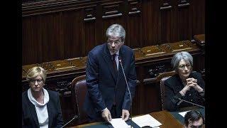 Gentiloni riferisce alla Camera sulla Siria (17/04/2018)