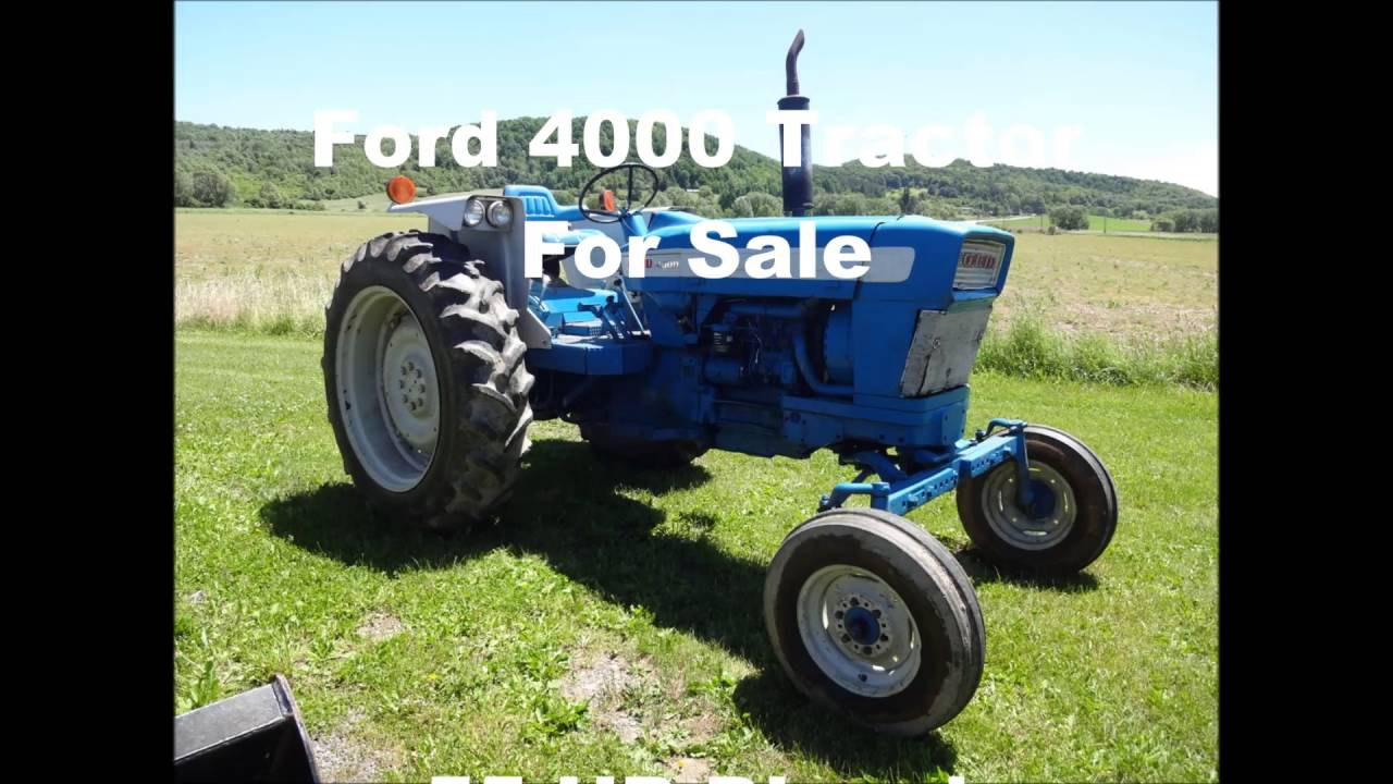 Ford Tractor Pto No 1962 : Ford sold on els youtube