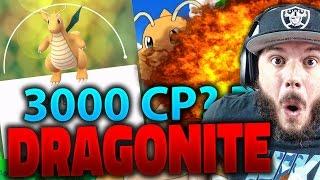 Pokemon GO - MI MEJOR POKEMON!! DRAGONITE MÁS DE 3000 CP?