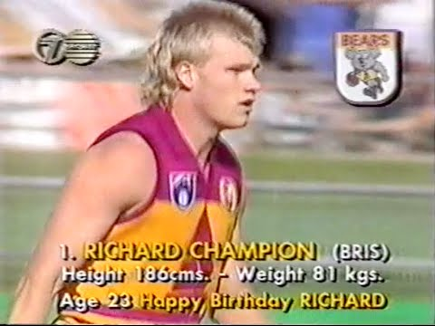 FULL GAME: 1991 AFL Rd 4 Brisbane Bears v Geelong Cats - first game at the Gabba
