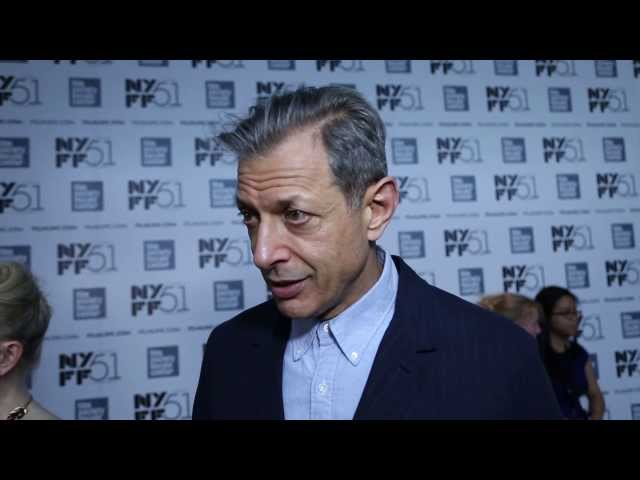 "NYFF51: Jeff Goldblum | ""Le Week-End"" Red Carpet"