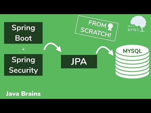 spring-boot-+-spring-security-with-jpa-authentication-and-mysql-from-scratch---java-brains