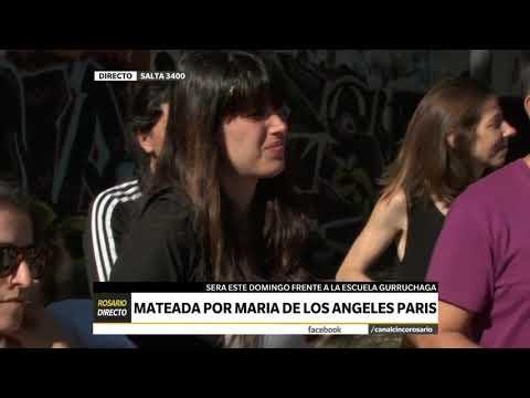 CANAL 5 ROSARIO – ROSARIO DIRECTO – MATEADA POR MARIA DE LOS ANGELES PARIS
