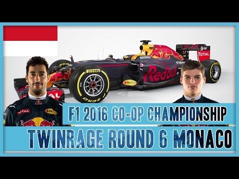 TwinRaGe Youtube Co-op Championship F1 2016 - Round 6 Monaco