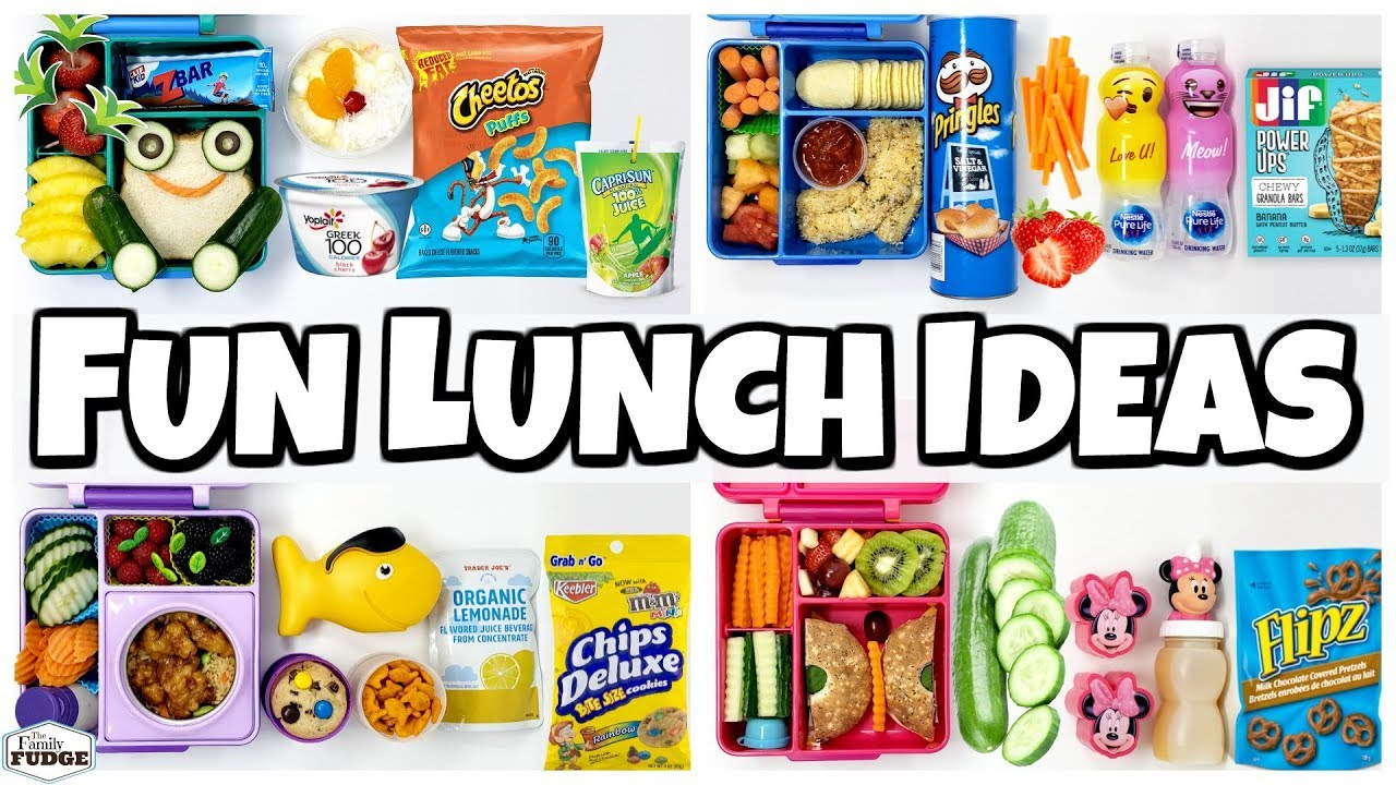a1b67bdab4d6 KIDS CHOICE Subscriber lunches for the LAST week of school 🍎 Bunches Of  Lunches