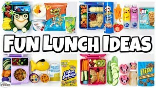 KIDS CHOICE Subscriber lunches for the LAST week of school 🍎 Bunches Of Lunches