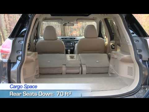 2015 Nissan Rogue Interior -- U.S. News Best Cars