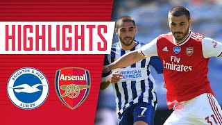 HIGHLIGHTS Brighton 2 1 Arsenal Premier League June 20 2020