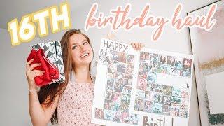 16th Birthday Haul!
