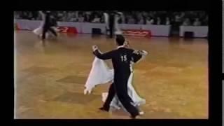 458 社交ダンス スローフォックストロット(Ballroom Dance Slow Foxtrot)2006年第27回日本インター