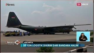 Video 20 Ton Logistik untuk Korban Gempa Sulteng Dikirim dari Bandara Halim - iNews Siang 02/10 download MP3, 3GP, MP4, WEBM, AVI, FLV Oktober 2018