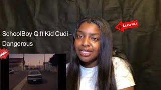ScHoolboy Q - Dangerous (feat Kid Cudi) [Official Music Video] REACTION