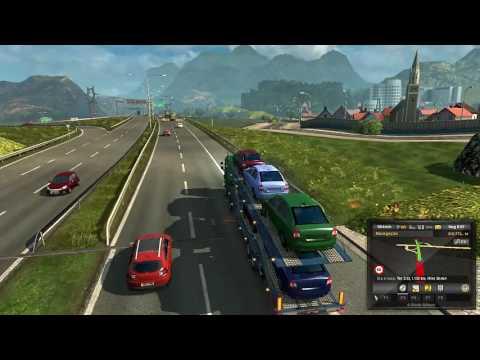 Jogo de caminhão - Viagem de RJ para SC #1