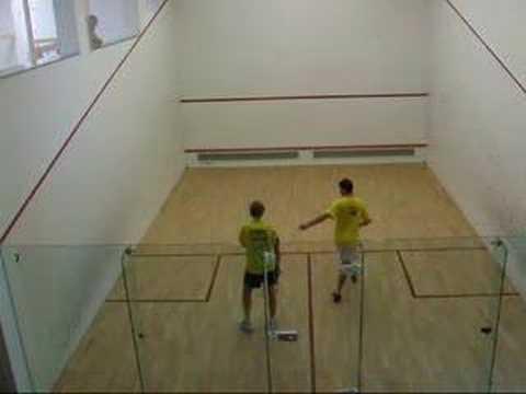 Squash -  Marcus Berrett Vs Simone Rocca