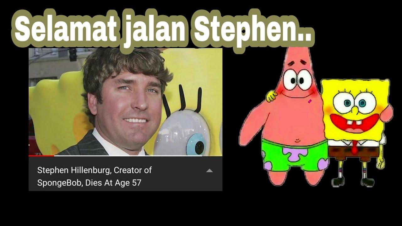 Rip stephen hillenburg creator pencipta film spongebob squarepants