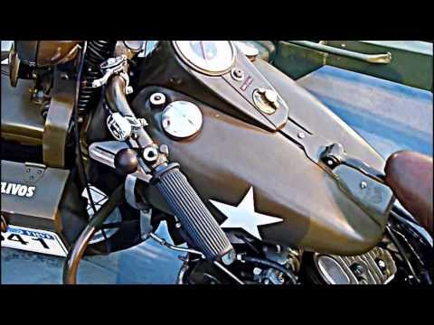 Harley Davidson WLA 45 U.S. Army (1942)