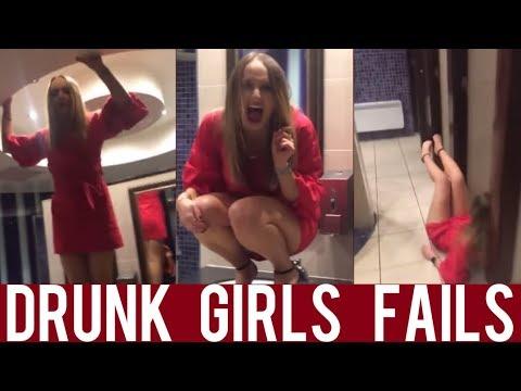 Best Drunk Girls Fails Compilation! || Super Funny Compilation! || Year 2018!