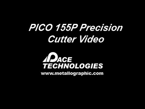 PACE Technologies PICO-155 precision wafering saw