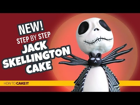 How To Make A Nightmare Before Christmas Cake by Shannon Murphy | How To Cake It Step By Step