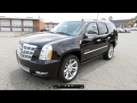 2012 Cadillac Escalade Platinum Collection Start Up, Exhaust, and In Depth Review